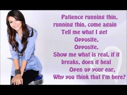 Victoria Justice - Freak the Freak Out! [Full Song + Lyrics] HD