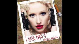 Christina Aguilera - I Hate Boys (Single)