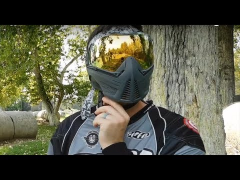New PUSH Unite Paintball Mask Goggle review