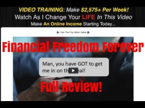 Is Financial Freedom Forever a Scam? Don't Buy it! [Review]
