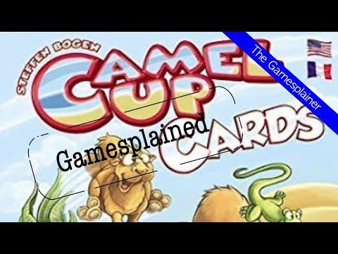Camel Up Cards Gamesplained - Part 1