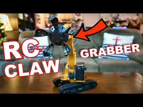 BIG RC Construction Truck - Claw Grabber - TheRcSaylors
