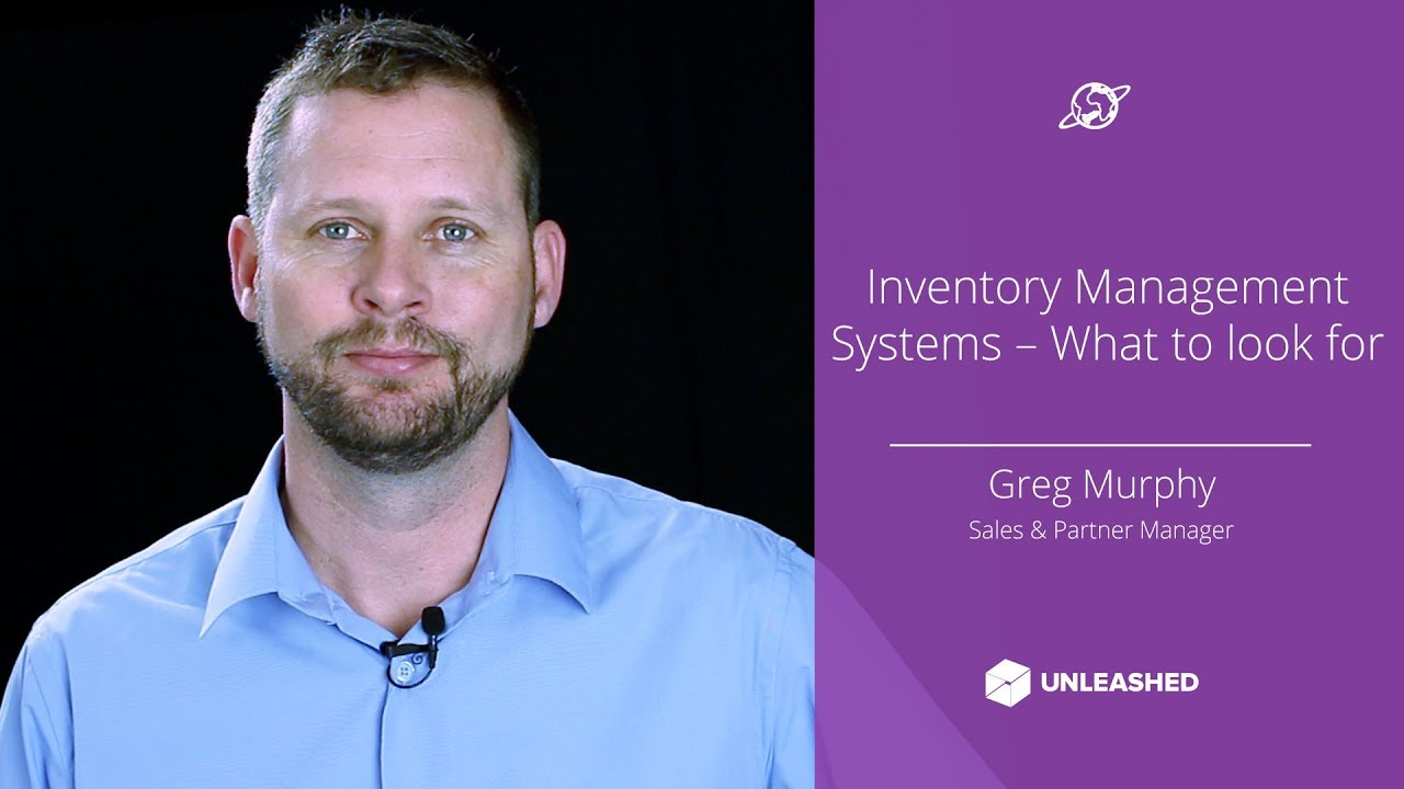 Inventory Management Systems - What to look for YouTube thumbnail image