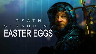Best Death Stranding Secrets & Easter Eggs! 4th Wall Breaks, Birthday Easter Eggs