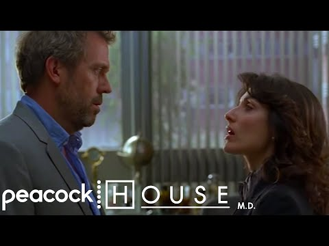 """House - """"ATTENTION I Slept With Lisa Cuddy!!""""   House M.D."""