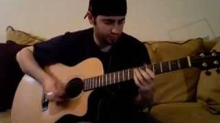 "Dave Matthews ""Angel & Space Between"" (Acoustic Guitar Cover)"