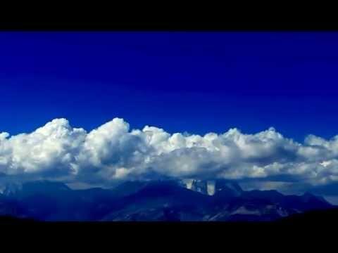 Nubes en cordón de El Plomo