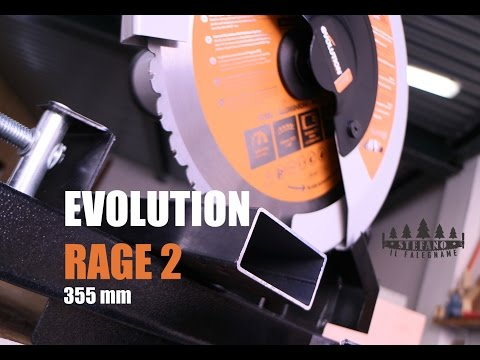EVOLUTION RAGE 2  355 mm !!