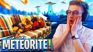 La *MÉTÉORITE* ARRIVE QUAND sur Fortnite : Battle Royale ?
