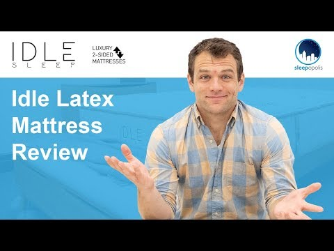 Idle Latex Mattress Review – Will This Flippable Bed Be Right for You?
