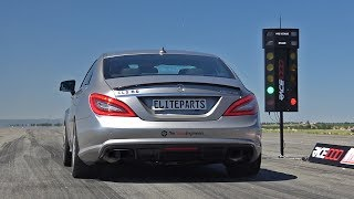 Mercedes-Benz CLS63 AMG TTE900 with CAPRISTO Exhaust - REVS & ACCELERATIONS!