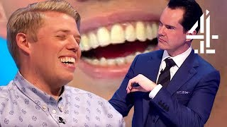 EVERY TIME JIMMY CARR MADE FUN OF ROB BECKETT