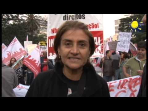 Eneida fala sobre a participação da Intersindical na Avenida Paulista