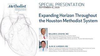 Dr. Suneja Featured in The Houston Methodist Debakey Heart and Vascular Video!