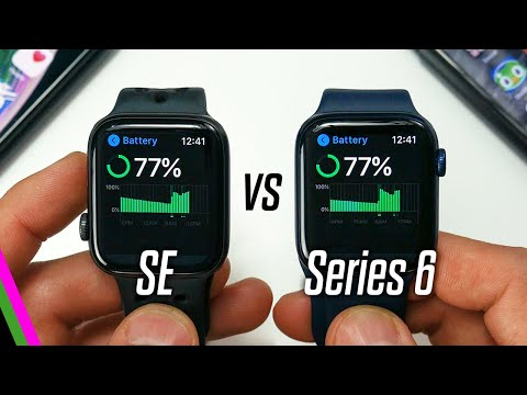 Apple Watch SE vs Series 6 ULTIMATE BATTERY TESTS + Battery Life Tips & Tricks!
