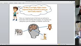 Therapy toolkit seminar - anxiety and worry (primary)