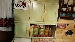 1937 Hoosier Style Cabinet