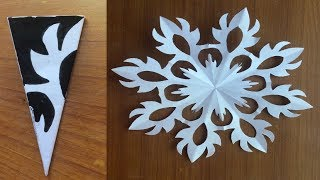 DIY Christmas Decoration Ideas/craft Papers Snowflakes/school Bulletin Board Decoration/kids Craft