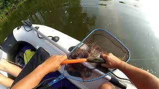 Зимняя рыбалка на реке сим