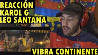 Léo Santana, Karol G - Vibra Continente (Copa América Brasil 2019) (REACCIÓN)