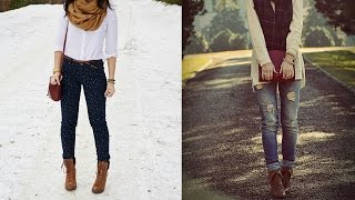 20 Style Tips On How To Wear Lace Up Boots For Women