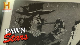 Pawn Stars: HUGE COST, HUGE LOSS on Picasso Etching (Season 10) | History