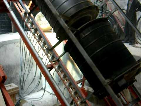 Rock N Roll Rotomoulding Machine