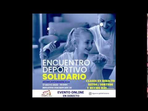 Participa en el Encuentro Deportivo Solidario #EDMCARTAMAENCASA
