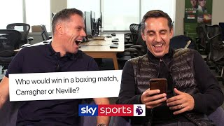 Jamie Carragher and Gary Neville answer YOUR questions!