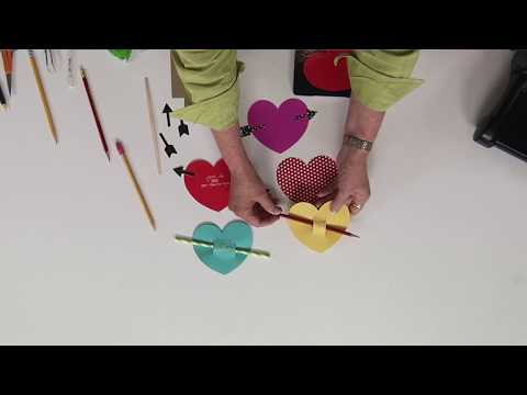 DIY Heart with Arrow Treats | Ellison Education Lesson Plan #12158