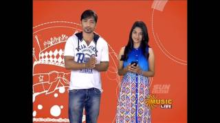 Sun music Vaazthukkal,show Vj Diviya & Srihari HD Video 25-07- 2016 Part -1