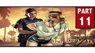 Grand Theft Auto 5 Walkthrough Part 11 - BIG TROUBLE!! | GTA 5 Walkthrough