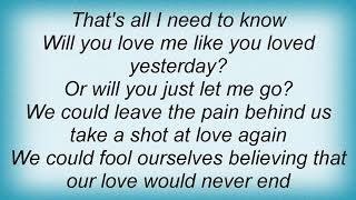 Aaron Watson - Will You Love Me In A Trailer Lyrics