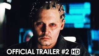 Transcendence Official Trailer 2 2014  Johnny Depp Movie