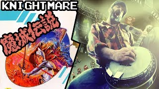 Knightmare ★ Level 1 cover by banjo guy ollie #konami #msx