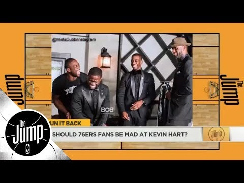 Dwyane Wade-Kevin Hart added to list of memorable NBA player-celebrity beefs | The Jump | ESPN