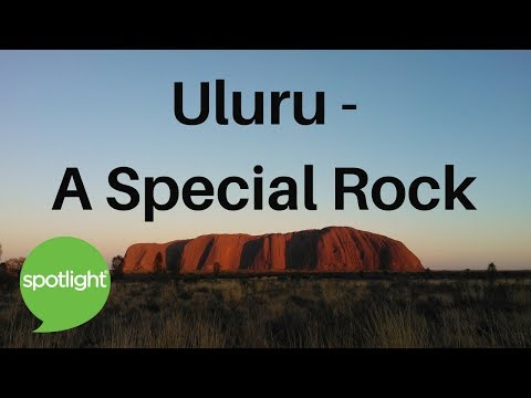 Uluru - A Special Rock | practice English with Spotlight