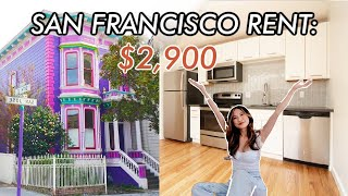 What $2,900 Gets You In San Francisco, CA | Apartment Hunting Tips + Tour
