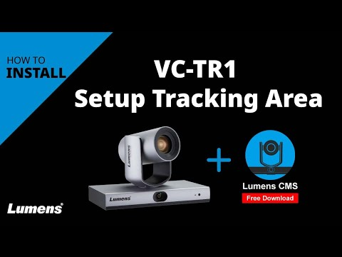 VC-TR1 Auto-Tracking Camera Set up
