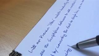 Ultra Realistic Single Line Handwriting Fonts