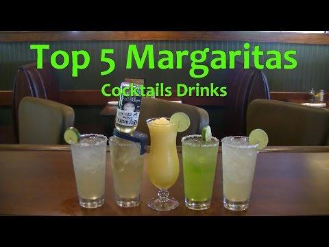 Video Top 5 Margaritas  Best Margarita Cocktails Top Drinks