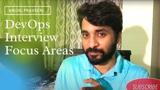 DevOps interview focus areas