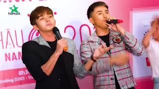 Will và Jun lần đầu tái ngộ tại tour tuyển sinh Hoa Hậu Việt Nam sau một thời gian 365 tan rã