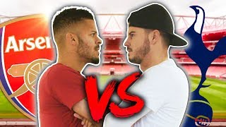 ARSENAL VS SPURS BATTLE! ft. ArsenalFanTV!
