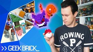 Микро-POKEMON GO и DOTA 2 из LEGO