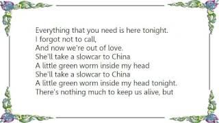 Gary Numan - Slowcar to China Lyrics