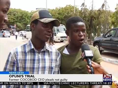 Opuni's Trial - News Desk on Joy News (27-3-18)