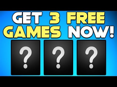 GET 3 FREE PC GAMES RIGHT NOW + NEW STEAM GAME!