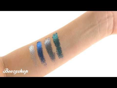 NYX Professional Make Up NYX Cosmetics Glitter Goals Cream Quad Palette Glacier