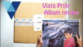 Vista Print Album Review